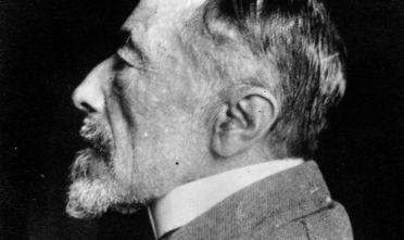 Lo scrittore polacco, naturalizzato britannico, Joseph Conrad (Foto da: Spicer-Simson/Hulton Archive/Getty Images).