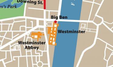 Dettaglio Anglosfera a Londra