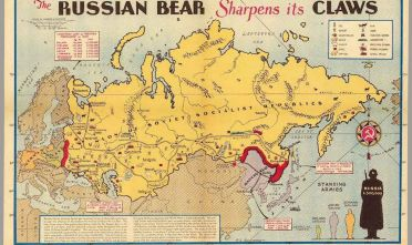 E.L. Sundberg, «The Russian Bear Sharpens its Claws», Sunday News, 1938 ca., pp. 6-7.