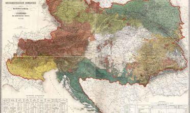 C. von Czoernig, Ethnographische Karte der Oesterreichischen Monarchie, Direction der Administrative Statistik, Wien 1855.