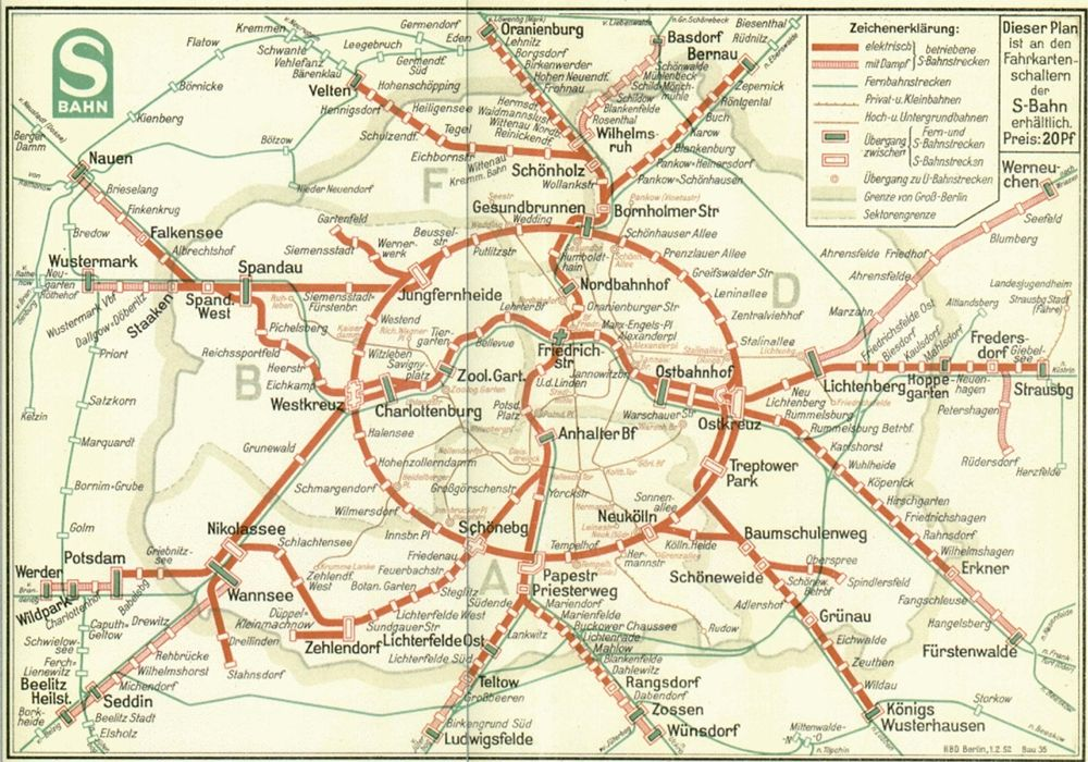 Fonte fig. 3: S-Bahn Berlin, 1952.