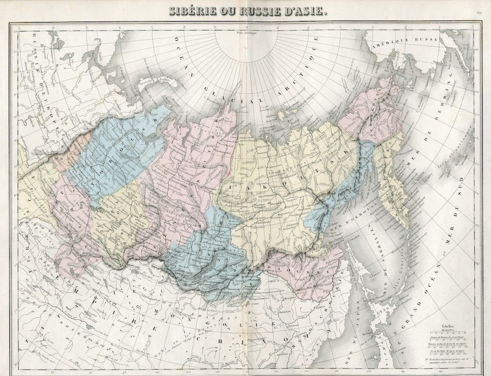 Cartina Fisica Russia Asiatica.Transiberiana Spina Dorsale Della Russia Limes