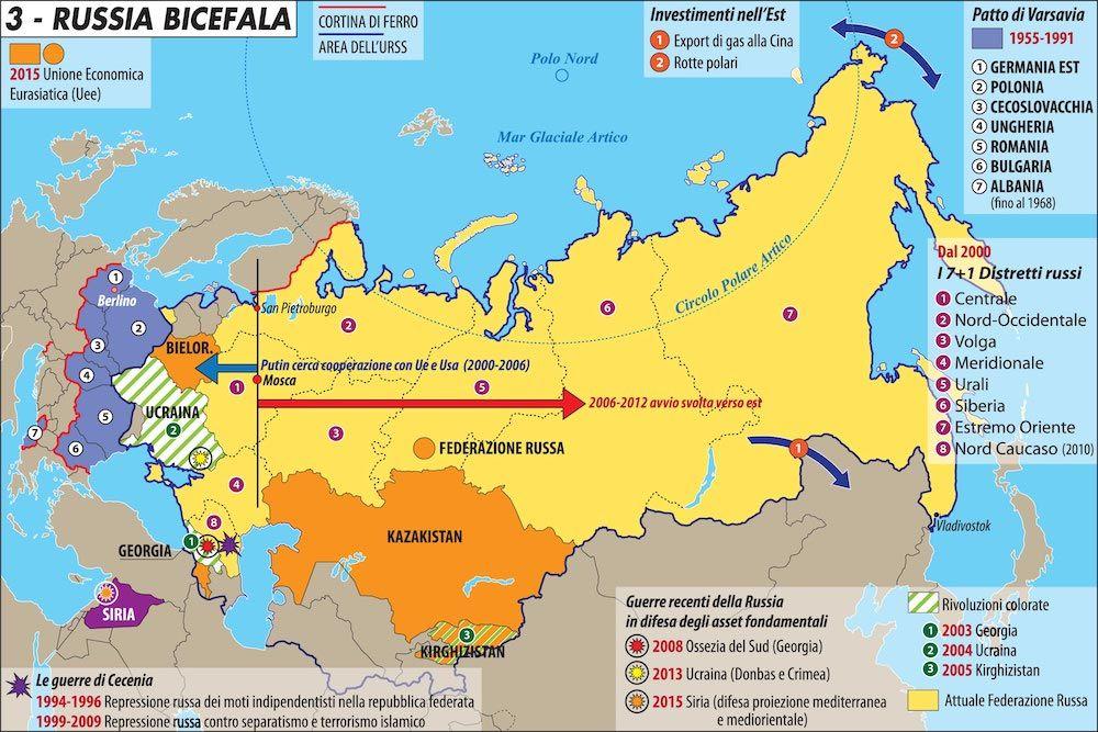 La Cartina Della Russia.L Eterna Grandezza Della Russia Limes