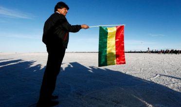 Evo Morales, presidente della Bolivia dal 2006 al 2019. Foto di Dean Mouhtaropoulos/Getty Images.