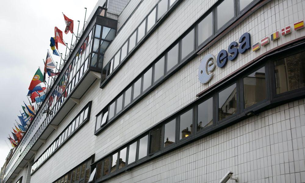 La sede centrale dell'Esa a Parigi (Foto da: LOIC VENANCE/AFP via Getty Images).