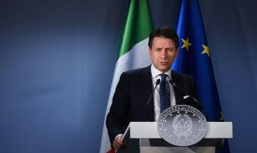 Il primo ministro italiano Giuseppe Conte. Foto di John Thys/AFP via Getty Images