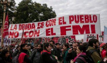 Manifestazione contro il Fondo Monetario Internazionale a Buenos Aires, agosto 2019. Foto di Ricardo Ceppi/ Getty Images.