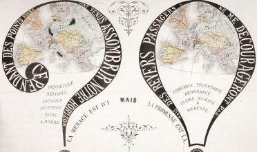 Fonte figura 1: L'Europa dei punti neri, Paris 1869, Henri Dron.