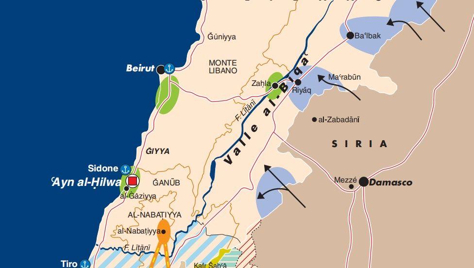 Cartina Libano E Israele.Il Ritiro Di Israele Dal Libano 2000 2020 Limes