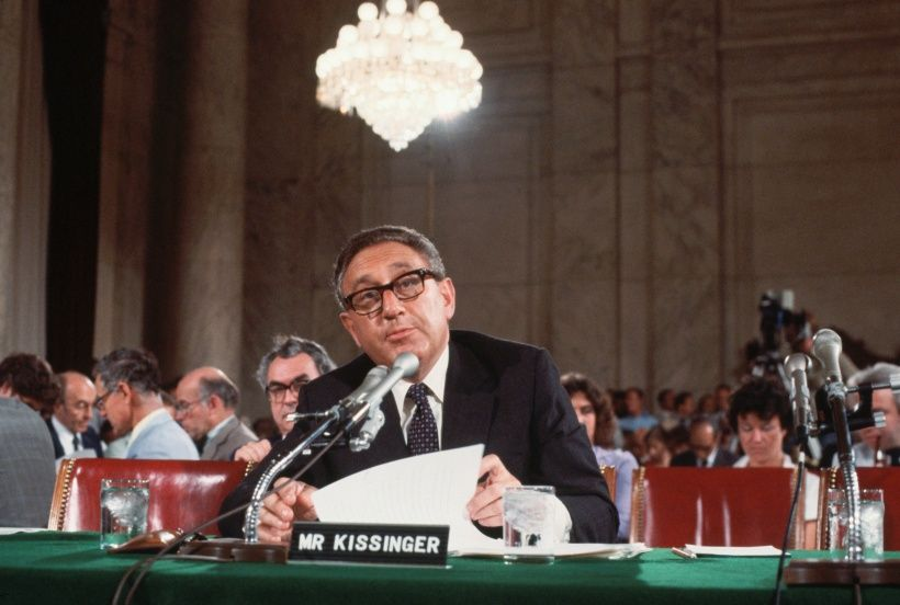 Henry Kissinger. Foto © Wally McNamee/CORBIS/Corbis via Getty Images.