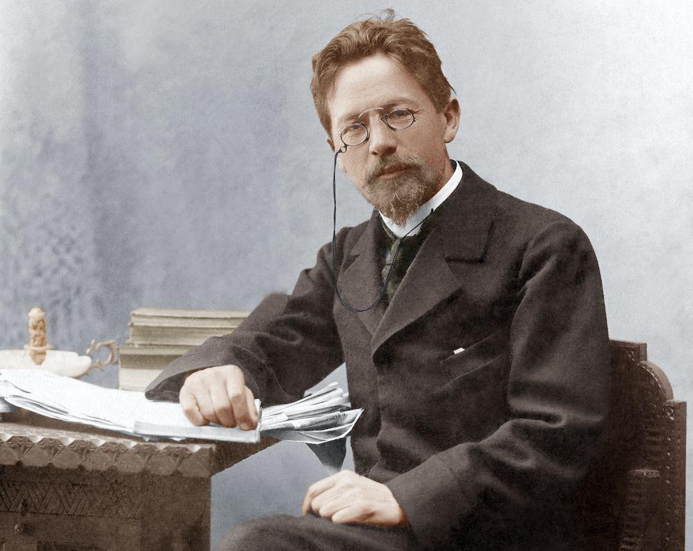 Lo scrittore russo Anton Pavlovič Čechov, 1860-1904 (Getty Images).