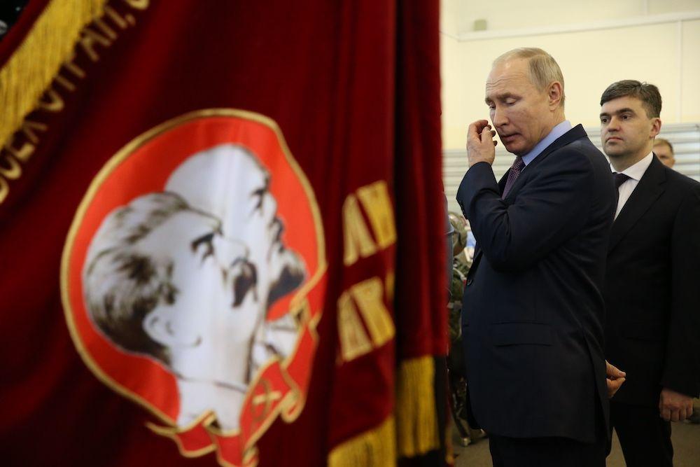 Vladimir Putin. (Photo by Mikhail Svetlov/Getty Images)