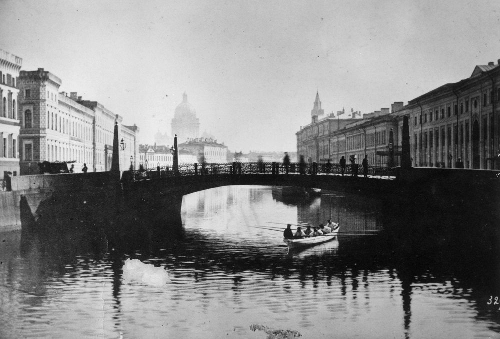 San Pietroburgo, 1869. Foto: Hulton Archive/Getty Images