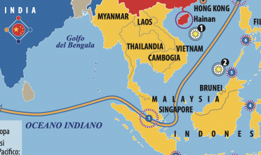 Dettaglio teatro Indo Pacifico