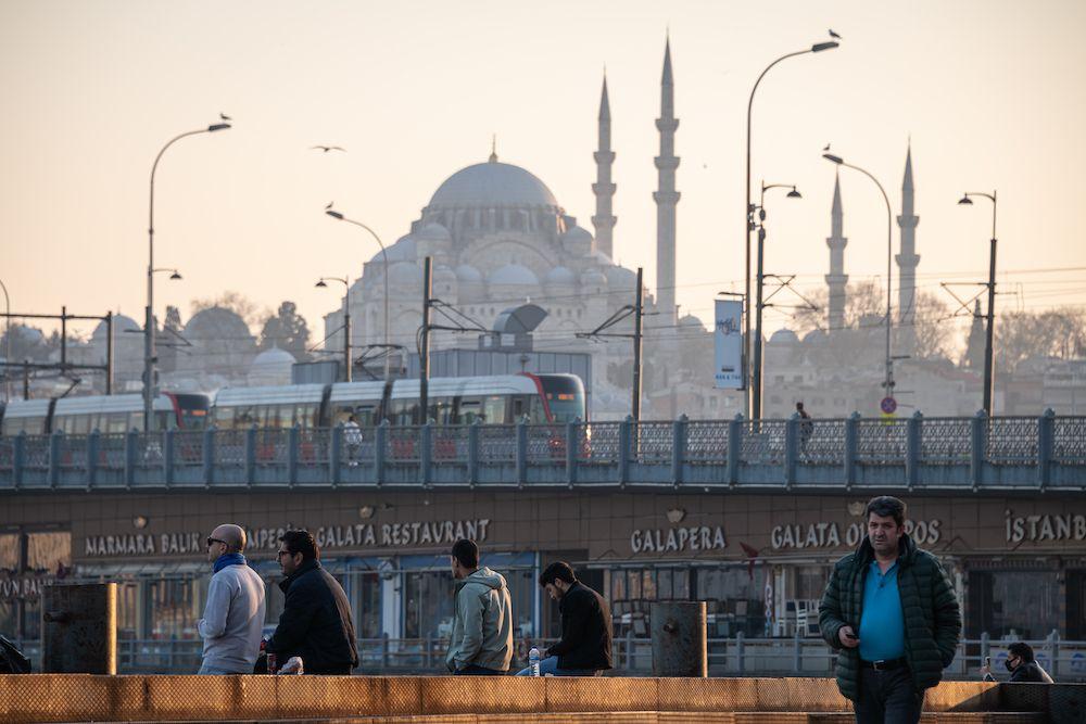 Istanbul, nei pressi del Corno d'Oro  (Foto da: Diego Cupolo/NurPhoto via Getty Images).