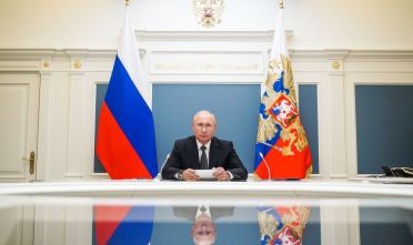 Vladimir Putin. Foto di Alexei DruzhininTASS via Getty Images.