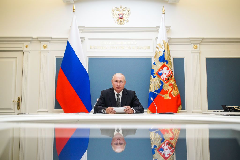 Vladimir Putin. Foto di Alexei DruzhininTASS via Getty Images.