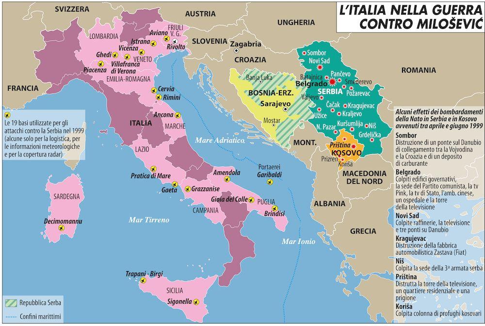 L'Italia nella guerra contro Milosevic