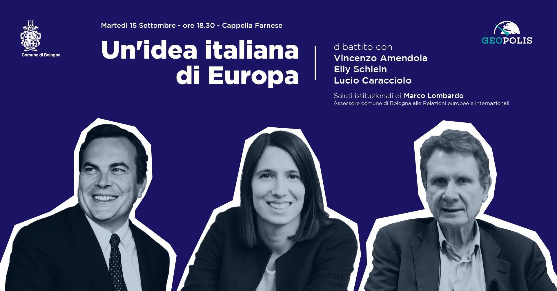 Locandina Idea italiana Europa