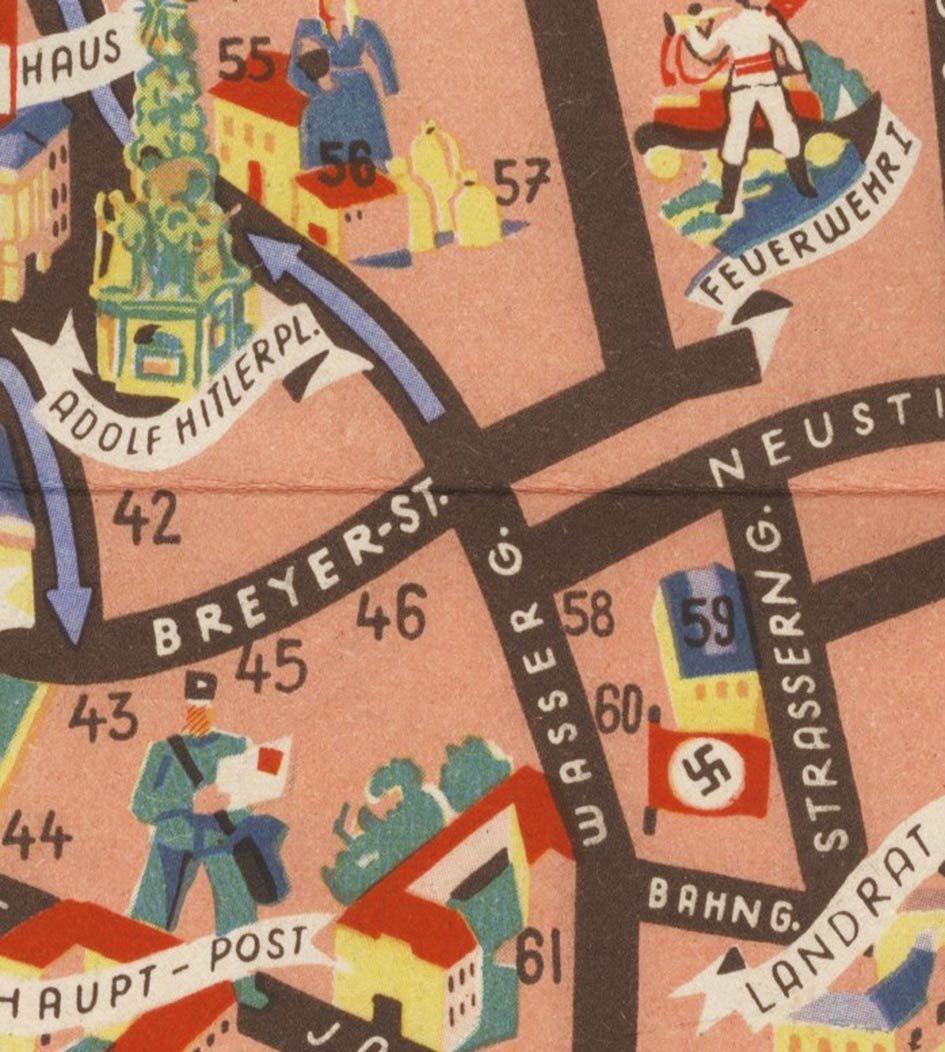 Fonte figura 5: F. Maschek, Heilbad Baden bei Wien, Wien 1940 ca., Cyliax Druck.