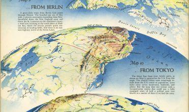 Fonte: R.E. Harrison, «Three Approaches to the U.S. ... from Berlin ... from Tokyo ... from Caracas», dalla rivista Fortune, settembre 1940, p. 58.