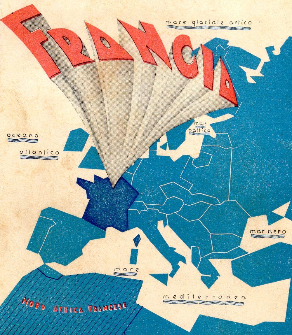 Fonte: Copertina del fascicolo Francia, collana «Notizie schematiche sull'ordina- mento militare», ministero della Guerra, Servizio Informazioni Militari, aprile 1935.