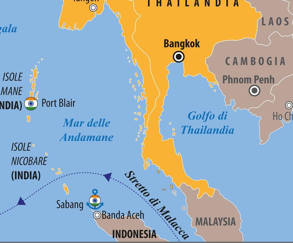 Anche l'India ha il dilemma di Malacca