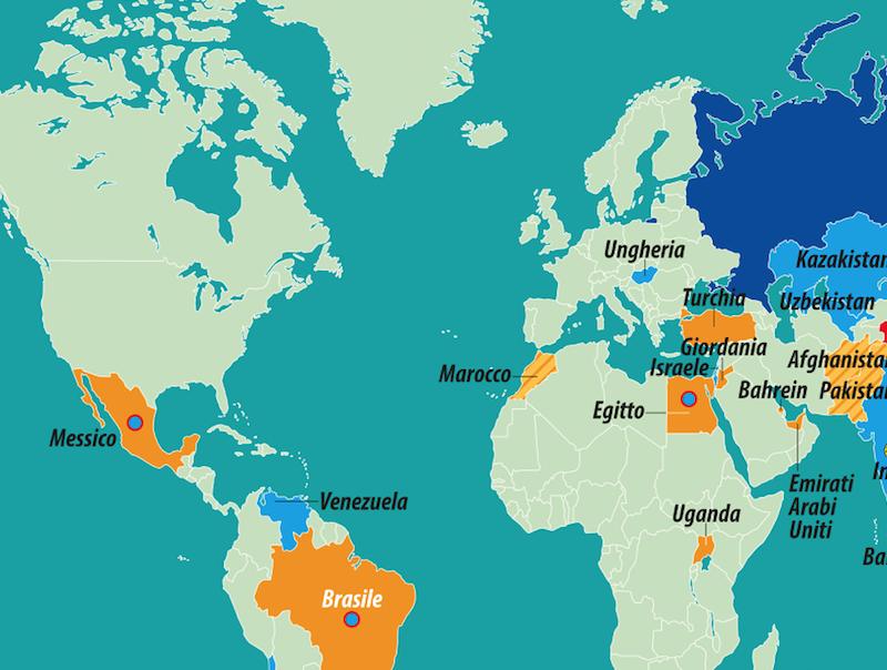 Dettaglio Diffusione Vaccini Russi e Cinesi