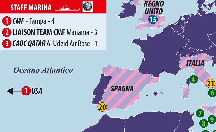 Le missioni della marina militare italiana