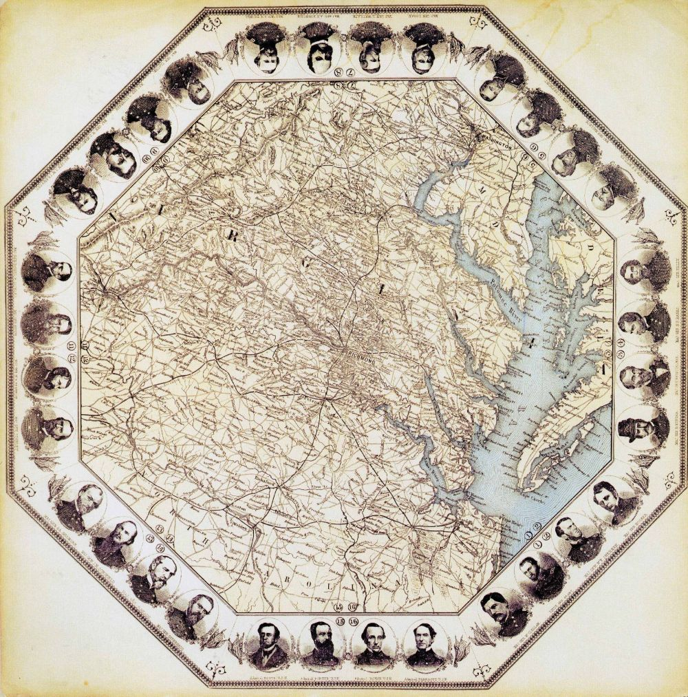 Senza titolo, Charles Magnus, New York 1862 circa, Placard.