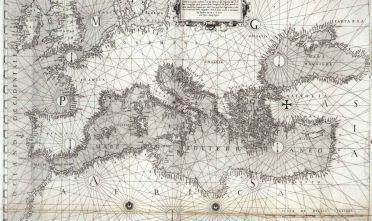 A. Lafreri, La vera descrittione della navigatione di tutta l'Europpa, et parte dell'Africa et dell'Asia, quali confinano con essa, Roma, 1572