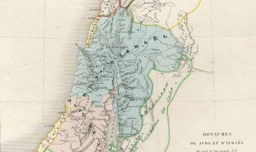 Fonte: A.-H. Dufour, Royaumes de Juda et d'Israël de 975 à 721 avant J. C., écrit par Lahanier et Lacouchy, Paris 1840 circa, Gaume, Imprimerie de Louis Antoine.