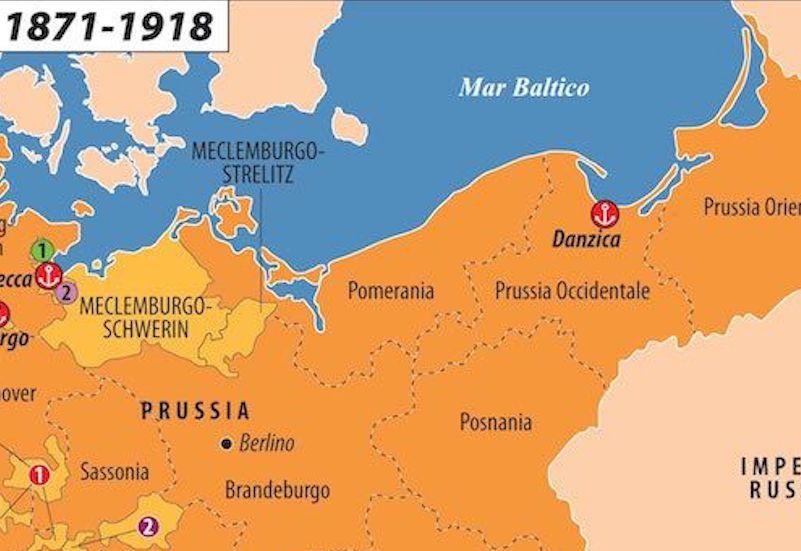Il_Reich_tedesco_1870_steinmann421_dettaglio