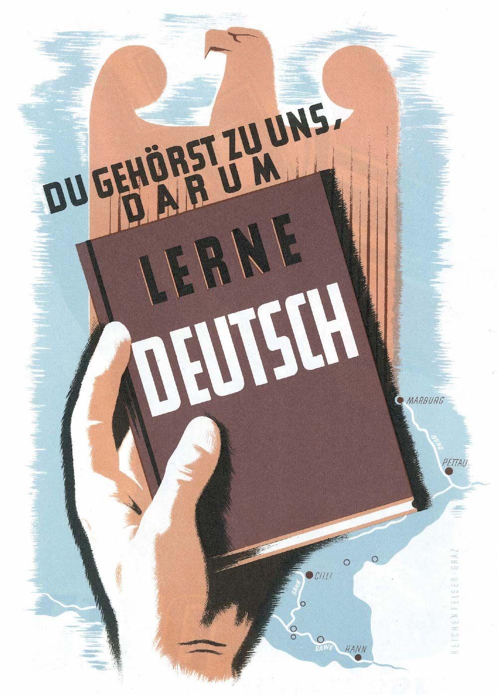 Fonte figura 2 : H. Reichenfelser, volantino nazista distribuito nei territori orientali conquistati, Graz, 17 aprile 1941.