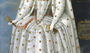 Fonte: M. Gheeraerts il Giovane, La regina Elisabetta I, olio su tela, 1592 circa.