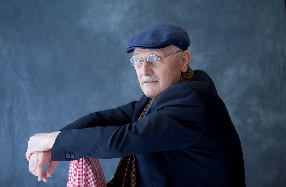 Antonio Pennacchi è uno scrittore ed ex-operaio italiano. Torino, 17 maggio 2013. © Leonardo Cendamo