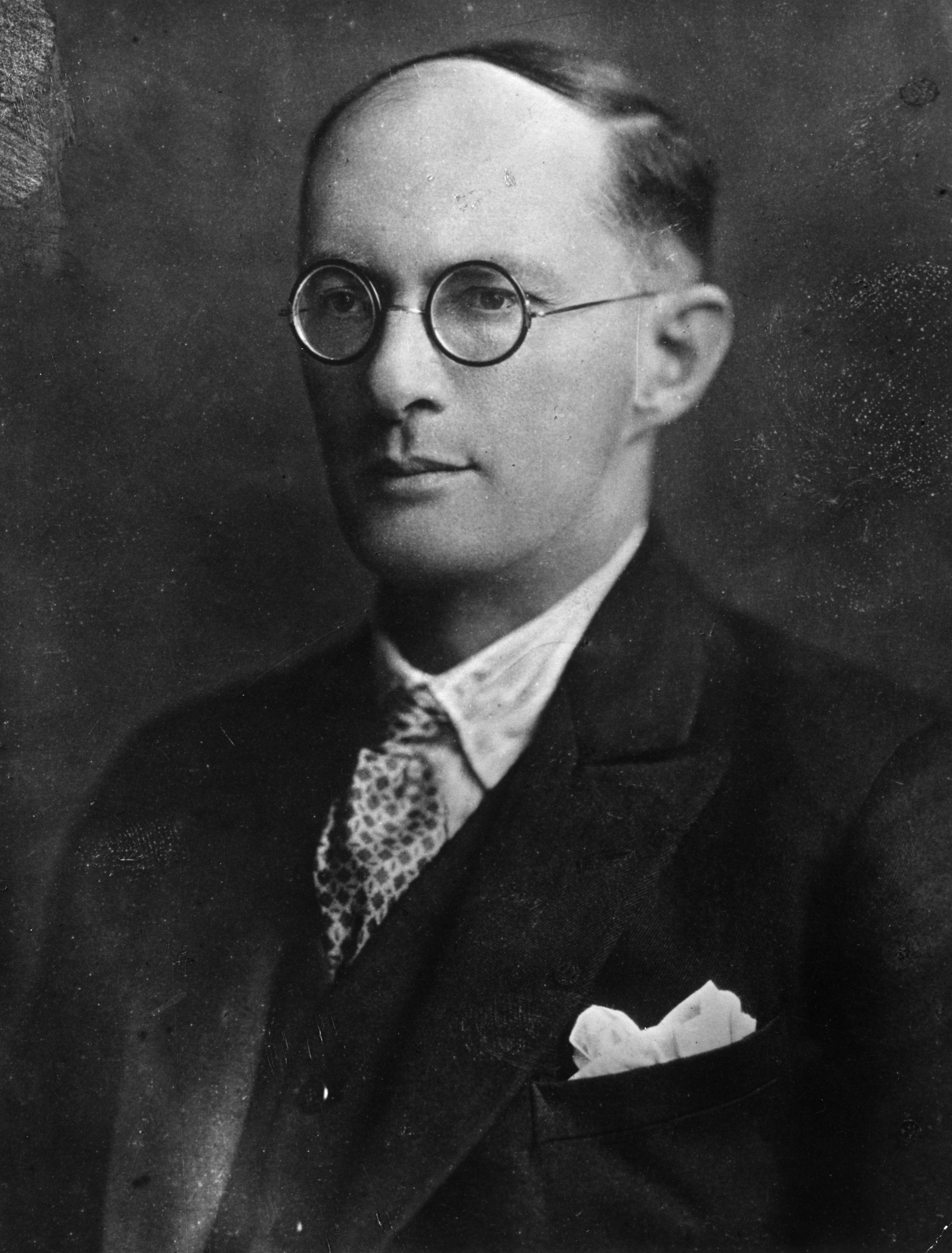 Bronislaw Malinowski (1884-1942) antropologo britannico d'origine polacca. Foto di Hulton-Deutsch Collection/CORBIS/Corbis via Getty Images.