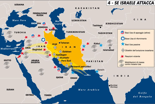 Israel versus Iran