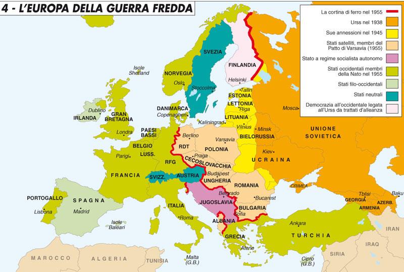 Est Europa Cartina.La Corsa Dell Est Limes