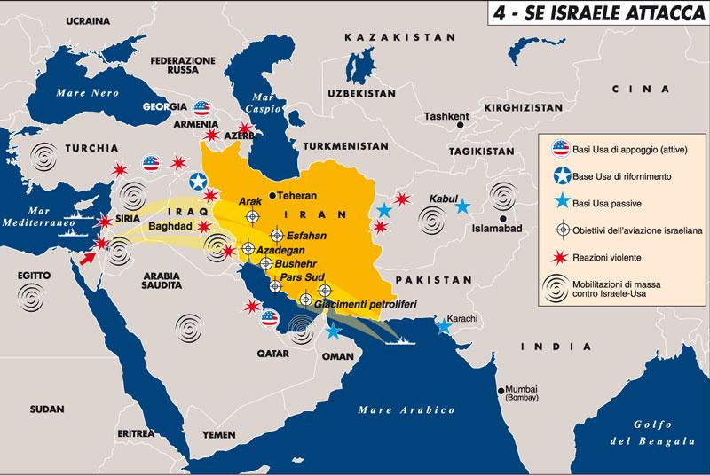 Dubai Sulla Cartina Geografica.Un Attacco Di Israele Contro L Iran Militarmente Un Suicidio Sa Defenza