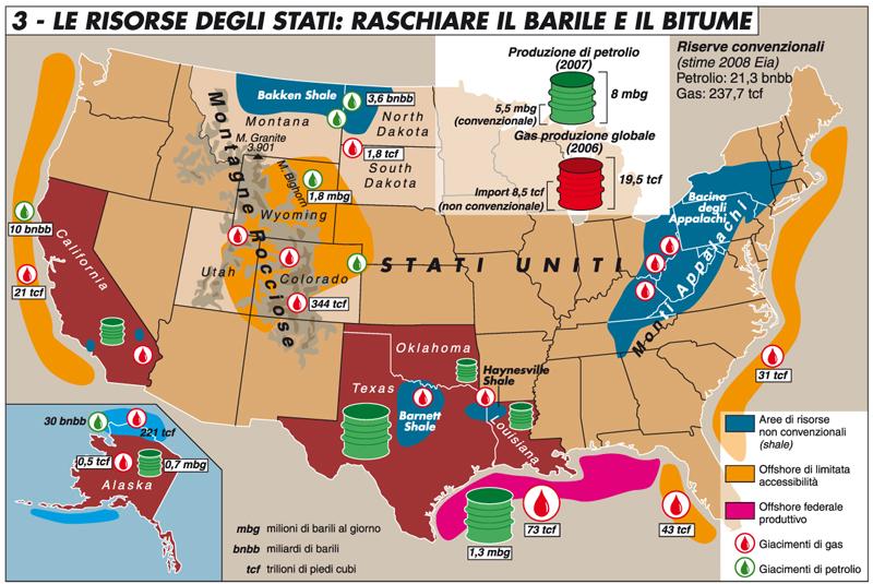 Cartina Economica Stati Uniti.Stati Uniti Raschiare Il Barile E Il Bitume Limes