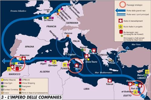 Traffici in Mediterraneo