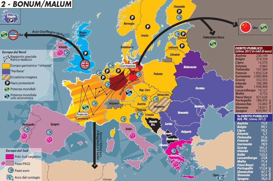 Cartina Europa Economica.Guida Alla Sopravvivenza Dell Unione Europea Limes