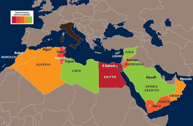 Cartina Africa Egitto.Rivolta In Egitto Risposte Ad Alcune Domande Limes