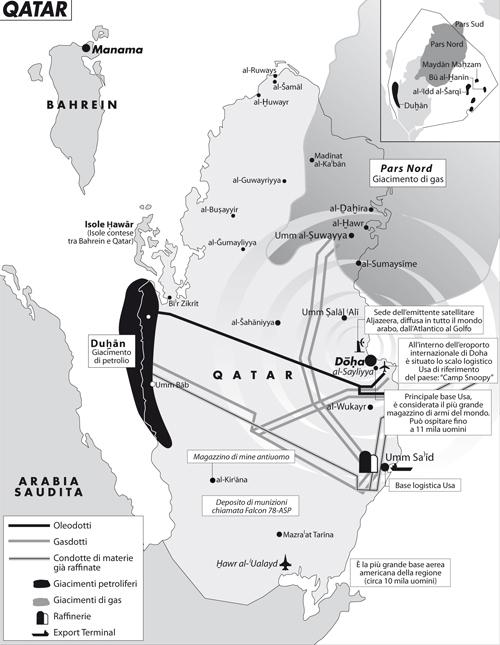 qatar, petrolio, gas, golfo, iran