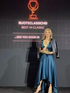 2021 09 30 Museo Nicolis, Best in Classic Ruoteclassiche, Silvia Nicolis ph Museo Nicolis (2)