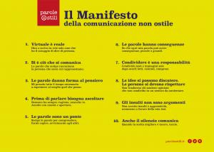 03.Il Manifesto della comunicazione non ostile