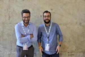 A destra il giornalista Simone Cosimi, accanto allo psicologo e psicoterapeuta Alberto Rossetti