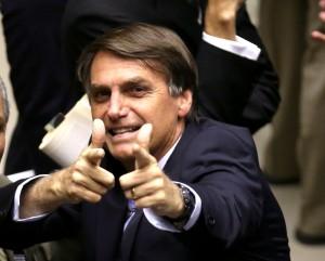 Jair Bolsonaro, candidato alla presidenza del Brasile nel 2018