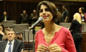Manuela D'Ávila, candidata della sinistra alle presidenziali del 2018